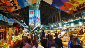 La Rambla, Barcelona Royalty-vrije Stock Afbeelding