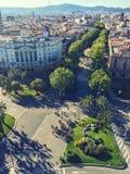 La Rambla Barcelona Stock Image