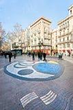 La Rambla, Barcelona, Spain. Stock Photo