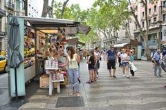 La Rambla, Barcelona Stock Photo