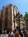 La Rambla, Barcelona, Spain Stock Photos