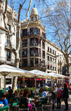 La Rambla, Barcelona Royalty Free Stock Photo