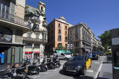 La Rambla in Barcelona, Spain Stock Photos