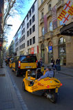 La Rambla street taxicabs, Barcelona Stock Photos