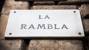 La Rambla Stock Images
