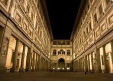 La rampe d'Uffizi Photo stock