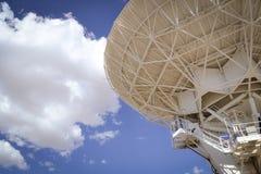 La rangée très grande célèbre de VLA près de Socorro New Mexico Images libres de droits
