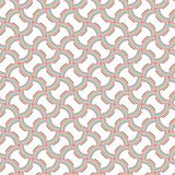 La raya colorida abstracta vibrante alinea a Mesh Modern Pattern Background libre illustration