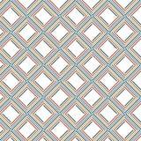 La raya colorida abstracta vibrante alinea a Mesh Web Pattern Background stock de ilustración