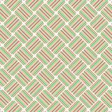 La raya colorida de la tela escocesa retra alinea a Mesh Web Pattern Background Imagen de archivo
