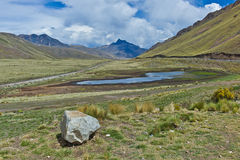 La Raya, Peru van Abra royalty-vrije stock fotografie