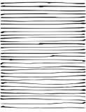 La rayure noire organique liquide raye le modèle au-dessus du blanc Photographie stock