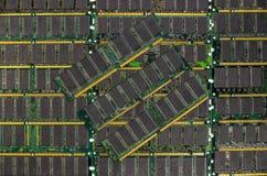 LA RDT RAM, moduli dei chip di memoria del computer Immagine Stock Libera da Diritti