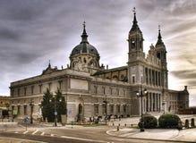 La Real de La Almudena Santa Maria Photos libres de droits