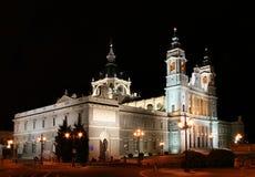 La Real de La Almudena Santa Maria Images libres de droits