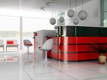 La recepción adentro es hoteles cuidados Imagen de archivo libre de regalías
