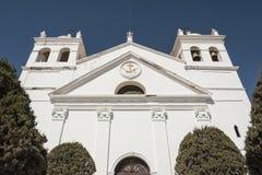 La Recoleta圣安娜修道院是一个方济会修道院在市苏克雷 库存图片