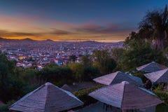 La recoleta在苏克雷,玻利维亚 免版税库存照片