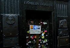 La Recoleta Cementery Stockbilder
