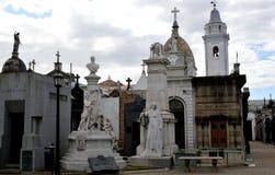 La Recoleta Cementery Stock Images