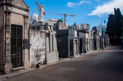 La Recoleta cemetery in Buenos Aires, Argentina Royalty Free Stock Images