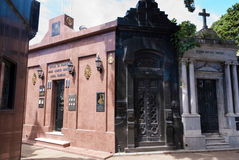 La Recoleta Cemetery Royalty Free Stock Images