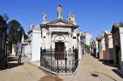 La Recoleta Cemetery Stock Photos