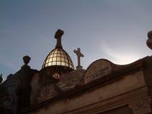 La recoleta cemetery ii. Buenos aires cemetery Royalty Free Stock Photo