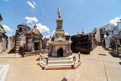 La Recoleta cemetery Stock Image
