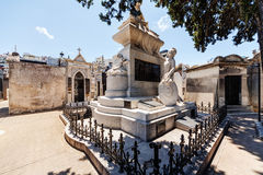 La Recoleta cemetery. Located in the Recoleta neighbourhood of Buenos Aires, Argentina stock images