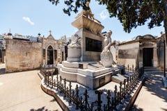 La Recoleta cemetery Stock Images