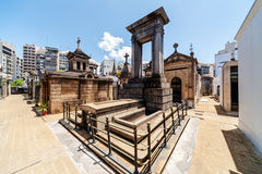 La Recoleta cemetery Stock Photos