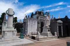 La Recoleta Cemetery Royalty Free Stock Photography