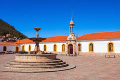La Recoleta, Sucre. La Recoleta Santa Ana Monastery is a franciscan monastery in the city of Sucre, the constitutional capital of Bolivia stock photo