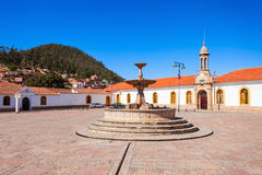 La Recoleta, Sucre. La Recoleta Santa Ana Monastery is a franciscan monastery in the city of Sucre, the constitutional capital of Bolivia stock image