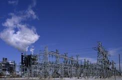 La red de potencia Fotos de archivo