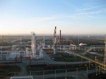 La refinería de petróleo Fotografía de archivo libre de regalías