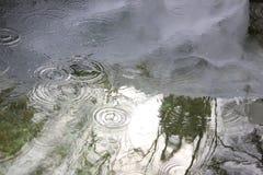 La reflexión en el agua Imagen de archivo libre de regalías