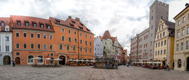 La Regensburg-Baviera-Germania Immagine Stock