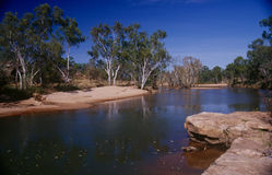 La región de Kimberley de Australia occidental Foto de archivo