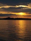La región del Samara del río Volga Fotos de archivo