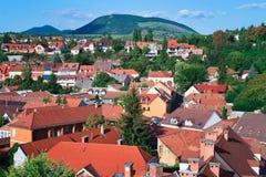 La región hermosa del vino de Eger en Hungría foto de archivo libre de regalías