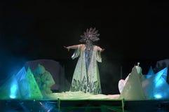 La regina della neve Fotografie Stock Libere da Diritti
