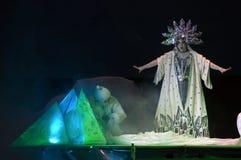 La regina della neve Immagini Stock Libere da Diritti