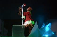 La regina della neve Fotografia Stock