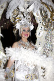 La regina di carnevale Immagine Stock