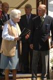 La regina ed il principe Philip Fotografia Stock Libera da Diritti