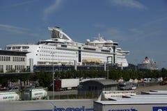 La regina a Kiel Immagini Stock Libere da Diritti