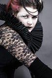 La regina scura Fotografie Stock