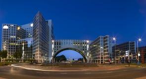 La regione commerciale della città di L'aia nei Paesi Bassi Immagine Stock
